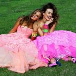 Vestidos para festa neon
