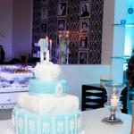 Festa Azul e preto | Debutante Carolina