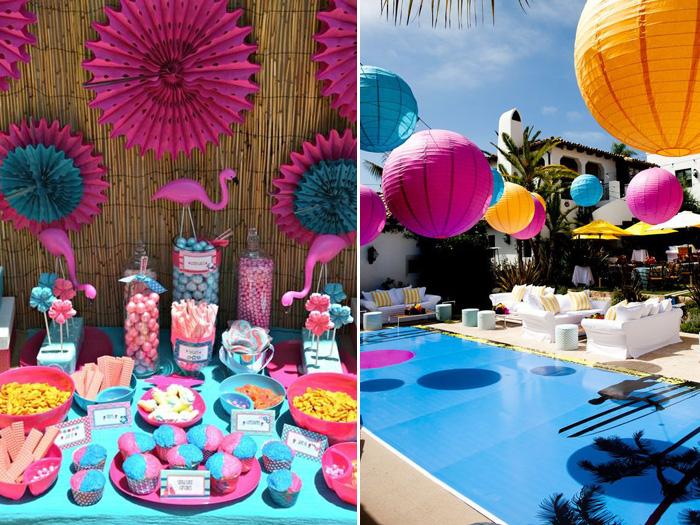 Debuteen o blog da debutante festa na piscina pool for Piscina party