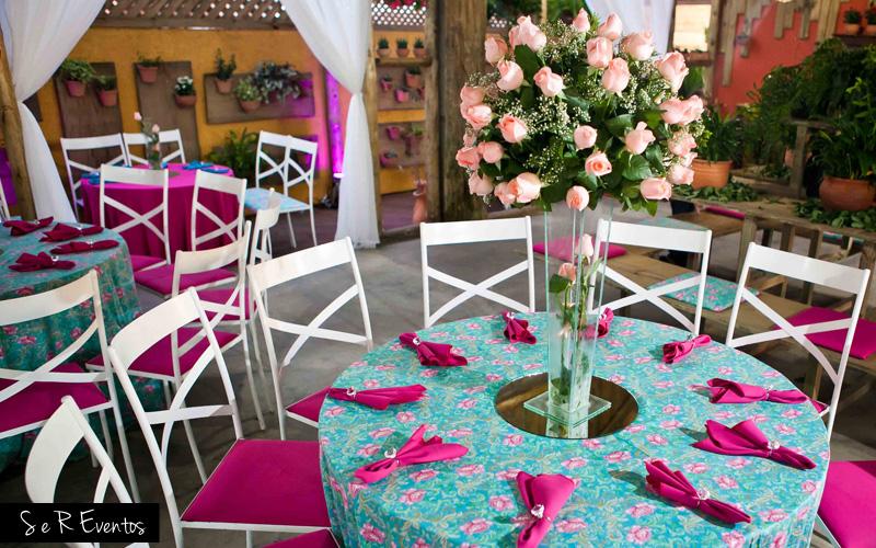 5 inspirações para Festa Azul e Rosa Debuteen O Blog  ~ Quarto Rosa E Azul Tiffany