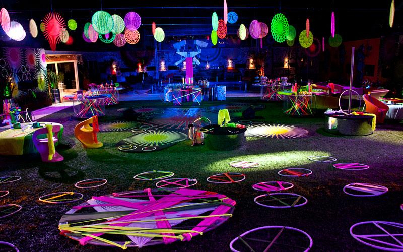 Temas de 15 anos - Festa Neon