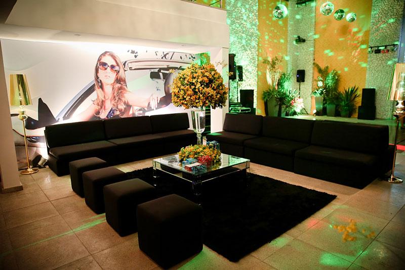 Lounge para festa de 15 anos