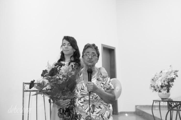 Oração da avó na festa de 15 anos